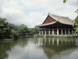 Seoul-Pavilion Kyonghoeru Fotografie-Druck von Bill Bachmann