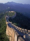 The Great Wall, Beijing, China Impressão fotográfica por Hal Gage