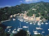 Portofino, Italy Stampa fotografica di Lonnie Duka