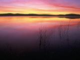 Sunrise on Klamath Lake Wild Refuge, CA Photographic Print by Kyle Krause