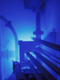 Core of Light Water Nuclear Reactor, Caused by Gamma Rays Fotografie-Druck von David M. Dennis