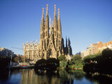 Sagrada Familia, Barcelona, Spain Reproduction photographique par Kindra Clineff
