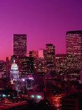 Denver, CO Premium fototryk af Mark Gibson