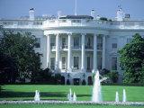 Exterior of White House, Washington, DC Fotoprint av Jon Riley