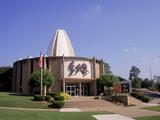 Football Hall of Fame, Caton, OH Fotografisk trykk av Bill Bachmann
