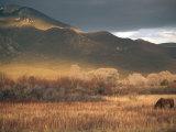 Nm, Taos, Sangre Christo Mountains Photographic Print by Walter Bibikow