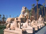 Luxor Casino, Las Vegas, NV Fotografisk tryk af Mark Gibson