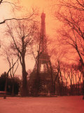 Eiffel Tower, Paris, France Lámina fotográfica por Tamarra Richards