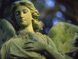 Angel of Mercy Statue Fotografie-Druck von Robin Hill