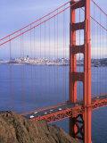 Golden Gate Bridge, San Francisco, California Fotografisk tryk af Charles Benes