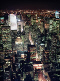 Midtown and North from Empire State Building, NYC Fotografie-Druck von Rudi Von Briel