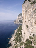 Island of Capri, Via Krupp, Italy Photographic Print by Stephen Saks