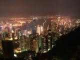 Hong Kong, China Stampa fotografica di Keith Levit