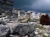 Mayan Ruins, Tulum, Mexico Impressão fotográfica por Angelo Cavalli