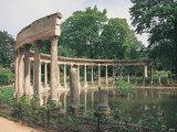 Parc Monceau, Paris, France Photographic Print by Jennifer Broadus