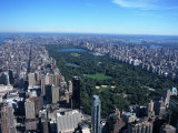 Aerial View of Central Park, NYC Fotoprint av David Ball