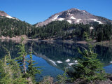 Lake Helen, Lassen Volcanic National Park, CA Fotografisk tryk af Mark Gibson