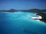 Whitehaven Beach, Queensland, Australia Impressão fotográfica por David Ball