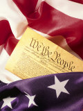 US Flag, Constitution Photographic Print by Terry Why