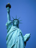 The Statue of Liberty Fotografisk tryk af Terry Why