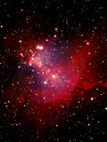 Nebula and Stars Reproduction photographique par Terry Why