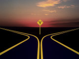 Fork in Road Photographic Print by Henryk T. Kaiser
