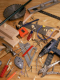 Carpentry Tools Fotografie-Druck von Chris Rogers
