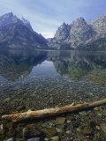 Jenny Lake, Grand Teton National Park, WY Fotografisk tryk af Allen Russell