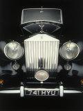 Parte delantera de un antiguo Rolls Royce Lámina fotográfica por Rick Kooker