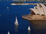 Opera House, Sydney, Australia Impressão fotográfica por David Ball