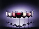Glasses of Wine Fotografisk trykk av Kurt Freundlinger