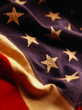 Vintage American Flag Fotografisk trykk av Joseph Hancock