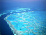 Hardy Reef, Queensland, Australia Impressão fotográfica por David Ball