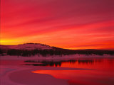 Sunset at Boca Reservoir, Truckee, CA Photographic Print by Kyle Krause