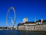 The London Eye, London Impressão fotográfica por David Ball