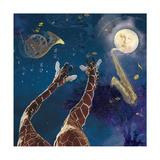 Heaven Blew Every Trumpet Kunstdruck von Nancy Tillman