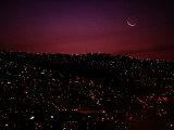Night View of Valparaiso Fotografie-Druck von Pablo Corral Vega