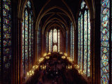 Sainte-Chapelle Cathedral Interior Photographic Print by James L. Stanfield