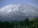 Mount Saint Helens Viewed from the South Side of the Mountain Photographic Print by Michael Klesius