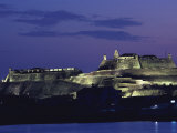 The 17th-Century Fortress of San Felipe De Barajas, Located in the Heart of the City Photographic Print by O. Louis Mazzatenta