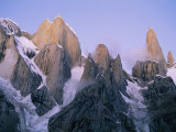 The Trango Group in the Karakoram Mountains Photographic Print by Bill Hatcher