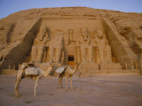 A View of the Ramses Ii Temple Photographic Print by Bill Ellzey