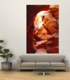 Antelope Canyon Wall Mural by Mary Lane