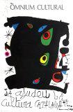 Omnium Cultural 1974 Samletrykk av Joan Miró