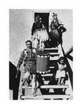Dance, San Ildefonso Pueblo, New Mexico, 1942 Fotografisk trykk av Ansel Adams