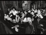 Audience Members Enjoying Alan Freed's Easter Show at Brooklyn Paramount Theater Photographic Print by Walter Sanders