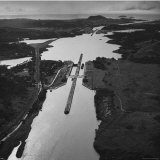 Aerial View of the Panama Canal Photographic Print by Thomas D. Mcavoy