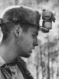 18 Year Old Coal Miner Ray Martin Near Islom, Kentucky Photographic Print by John Dominis