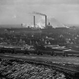 View of Detroit Photographic Print by John Dominis
