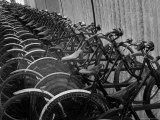 View of Bicycles from a Story Concerning Italy Photographic Print by Thomas D. Mcavoy